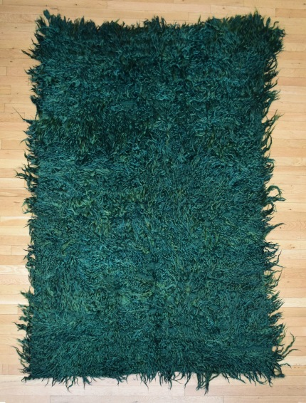 Green Rug straight