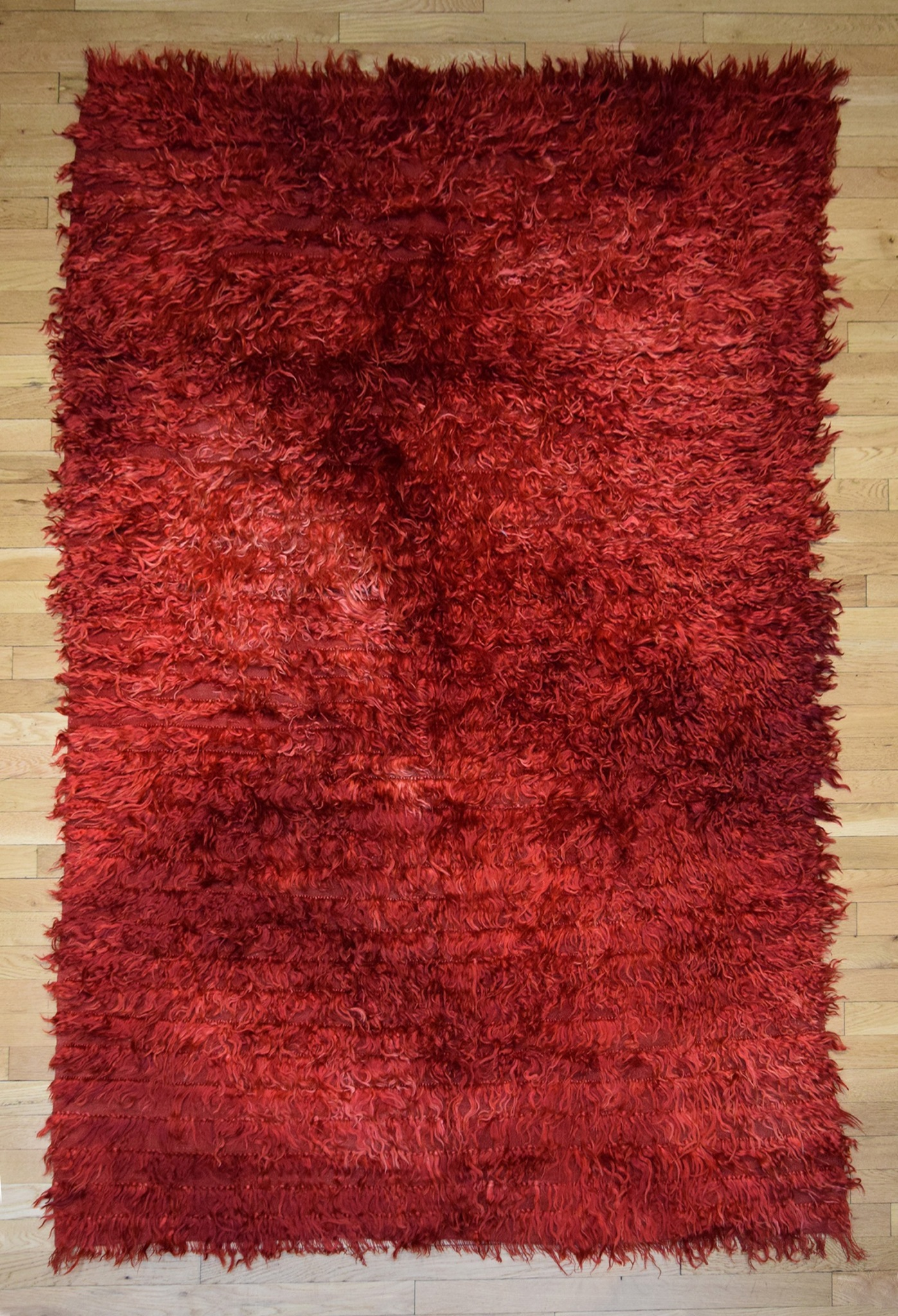 Large Red Rug straight