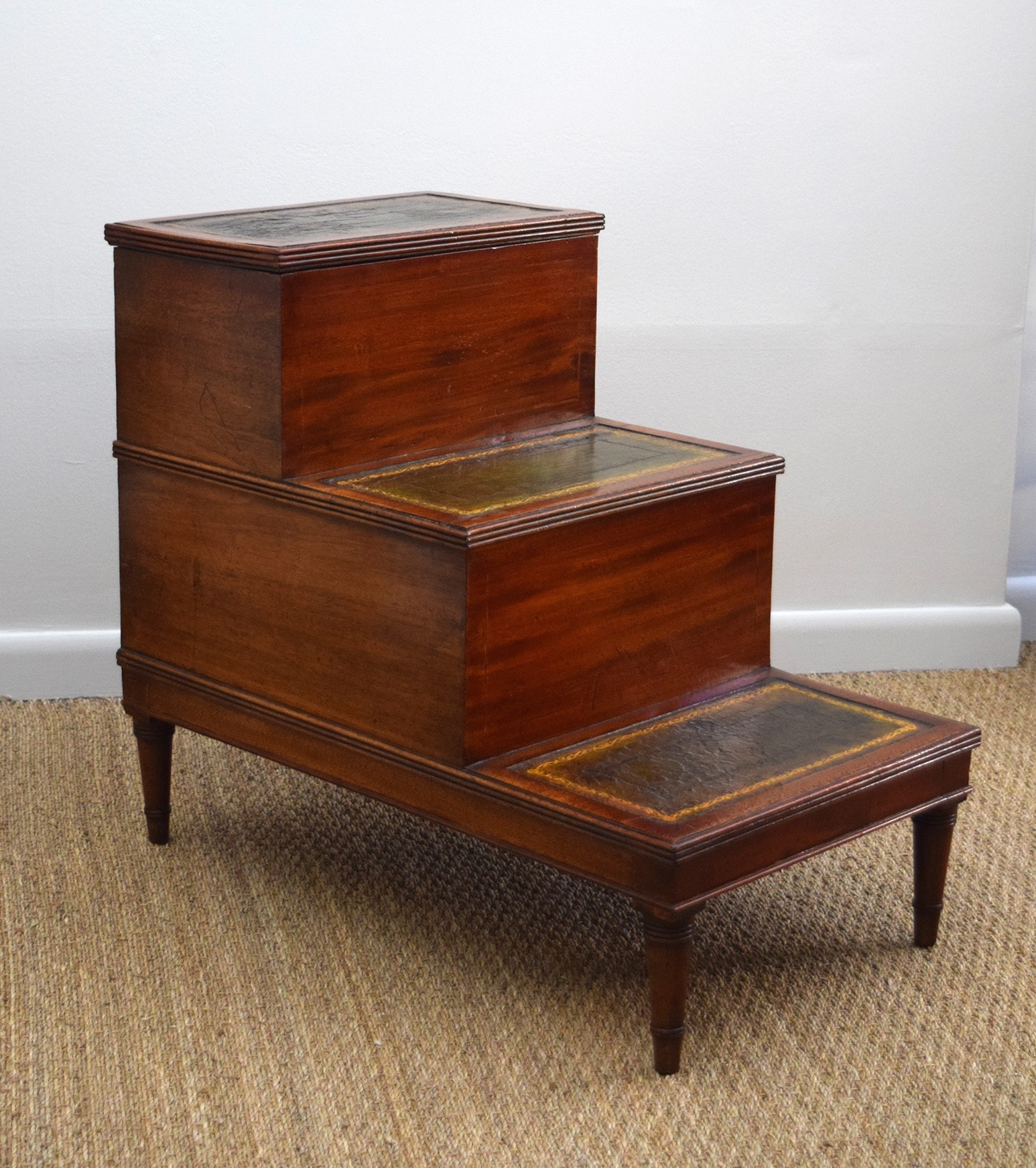 Self-Conscious Pair Of 1920s Cane Bergere And Oak Single Beds Antiques