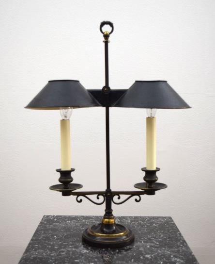 Tole lamp 1